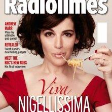 Nigella Lawson in cover su RadioTimes: Viva Nigellissima