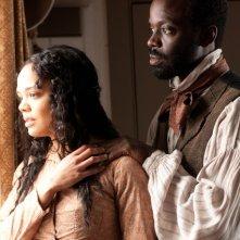Copper: Tessa Thompson e Ato Essandoh nell'episodio La Tempete