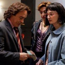 Il comandante e la cicogna: Alba Rohrwacher in una scena del film insieme a Luca Zingaretti