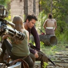 Revolution: Tracy Spiridakos e Billy Burke nell'episodio Chained Heat