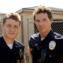 Southland: Ben McKenzie e Shawn Hatosy in una scena dell'episodio Wednesday