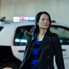 Southland: Lucy Liu in una scena dell'episodio Underwater