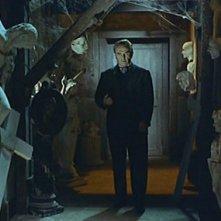 Herbert A.E. Bohme in una sequenza del film Il mulino delle donne di pietra