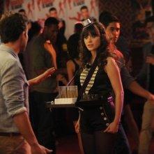 New Girl: Zooey Deschanel in un momento dell'episodio Re-Launch