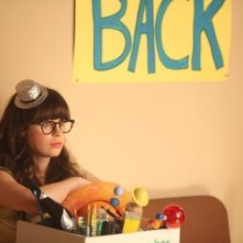 New Girl: Zooey Deschanel in una scena dell'episodio Re-Launch