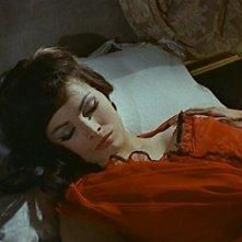 Scilla Gabel in una scena del film Il mulino delle donne di pietra