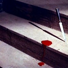 Una inquietante scena del film Il mulino delle donne di pietra (1960)
