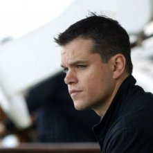Un primo piano di Matt Damon in Promised Land