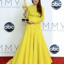 La splendida Julianne Moore premiata per Game Change agli Emmy 2012