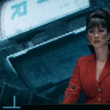 Iron Sky: Stephanie Paul in una scena del film
