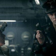 Iron Sky, una scena della commedia sci-fi di Timo Vorensuola