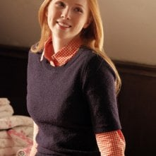 Castle: Molly Quinn in una scena dell'episodio Secret's Safe With Me