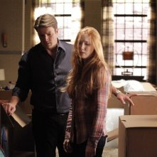 Castle: Nathan Fillion e Molly Quinn nell'episodio Secret's Safe With Me