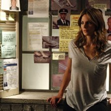 Castle: Stana Katic in una scena dell'episodio After the Storm, premiere della stagione 5