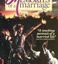 Memories of a Marriage: la locandina del film