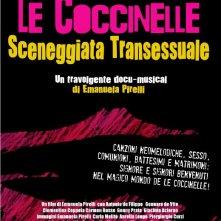 Le Coccinelle, sceneggiata transessuale: la locandina del film