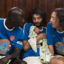 Les Seigneurs - Omar Sy con Ramzy e Gad Elmaleh in una scena