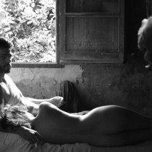 Aida Folch e Martin Gamet  in El artista y la modelo