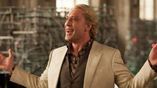 Javier Bardem, villain biondo e sorridente in Skyfall