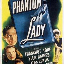 Locandina del film La donna fantasma (1944)