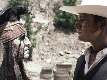The Lone Ranger: faccia a faccia tra Johnny Depp ed Armie Hammer