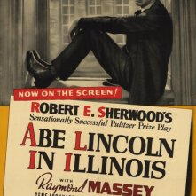 Abramo Lincoln in Illinois: la locandina del film