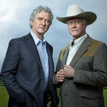 Dallas: Larry Hagman e Patrick Duffy nel sequel della serie