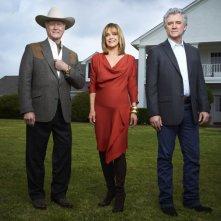 Dallas: Larry Hagman e Patrick Duffy nel sequel della serie con Linda Gray