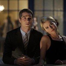 666 Park Avenue: Dave Annable insieme a Rachel Taylor in una scena dell'episodio Murmurations
