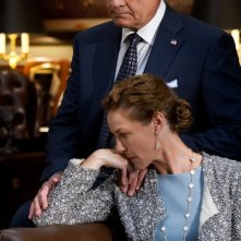 Boss: Kelsey Grammer e Connie Nielsen nell'episodio The Conversation