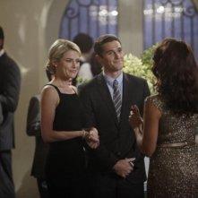 Dave Annable con Rachel Taylor nell'episodio Murmurations della prima stagione di 666 Park Avenue