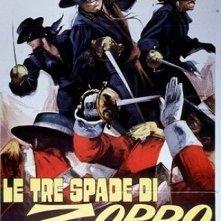 Le tre spade di Zorro: la locandina del film