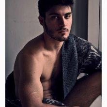 Vincent Mazzarella in uno scatto fotografico