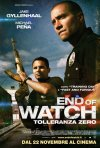 End of Watch - Tolleranza zero: la locandina italiana