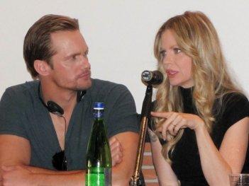True Blood: Alexander Skarsgard insieme a Kristin Bauer al RomaFictionFest 2012 per presentare la quinta stagione della serie