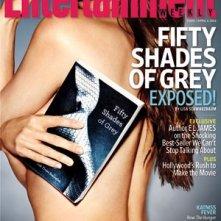 Cinquanta sfumature di grigio: la cover di Entertainment dedicata al fenomeno letterario del 2012