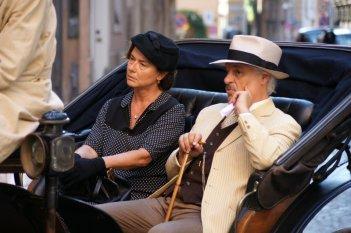 Trilussa - Storia d'amore e di poesia: Michele Placido e Monica Guerritore in una scena
