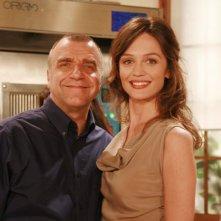 Un medico in famiglia 8: Ugo Dighero e Francesca Cavallin in un'immagine promozionale della serie