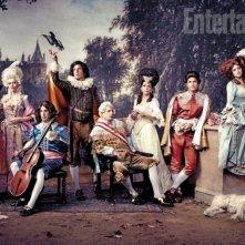 Una foto promozionale del cast della serie Ti presento i miei - Arrested Development
