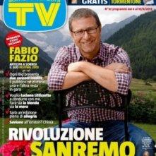 Fabio Fazio sulla copertina di Tv Sorrisi e Canzoni nell'autunno 2012, per presentare Sanremo 2013