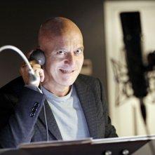 Hotel Transylvania: Claudio Bisio in sala doppiaggio presta la voce al conte Dracula