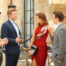 90210: Trevor Donovan, Arielle Kebbel, Matt Lanter e Jessica Lowndes nell'episodio The Sea Change