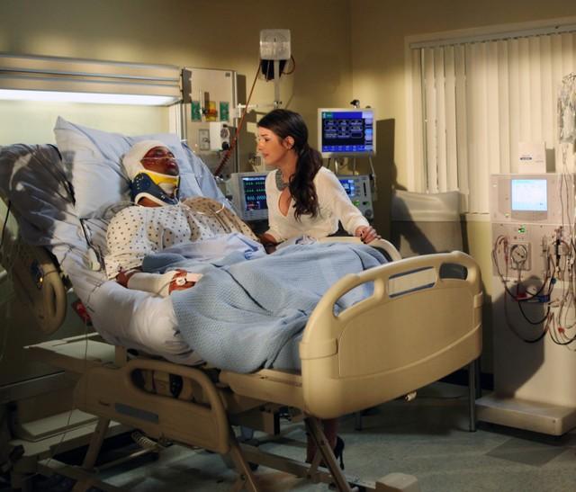 90210 Tristan Wilds E Shenae Grimes Nell Episodio Til Death Do Us Part 253476