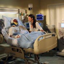 90210: Tristan Wilds e Shenae Grimes nell'episodio Til Death Do Us Part