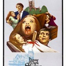 Dark Shadows - La casa dei vampiri: la locandina del film