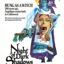 Dark Shadows - La casa delle ombre maledette: la locandina del film
