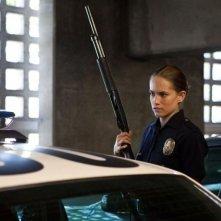End of Watch - Tolleranza zero: Cody Horn in una scena del film nei panni dell'agente Davis