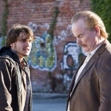 Killer Joe: Emile Hirsch in una scena del film insieme a Marc Macaulay