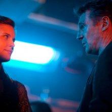 Taken: la vendetta, Liam Neeson e Maggie Grace in una scena del film