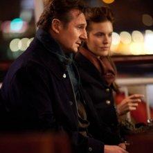 Taken: la vendetta, Liam Neeson insieme a Maggie Grace in una scena del film
